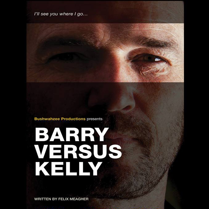 Poster for Barry versus Kelly