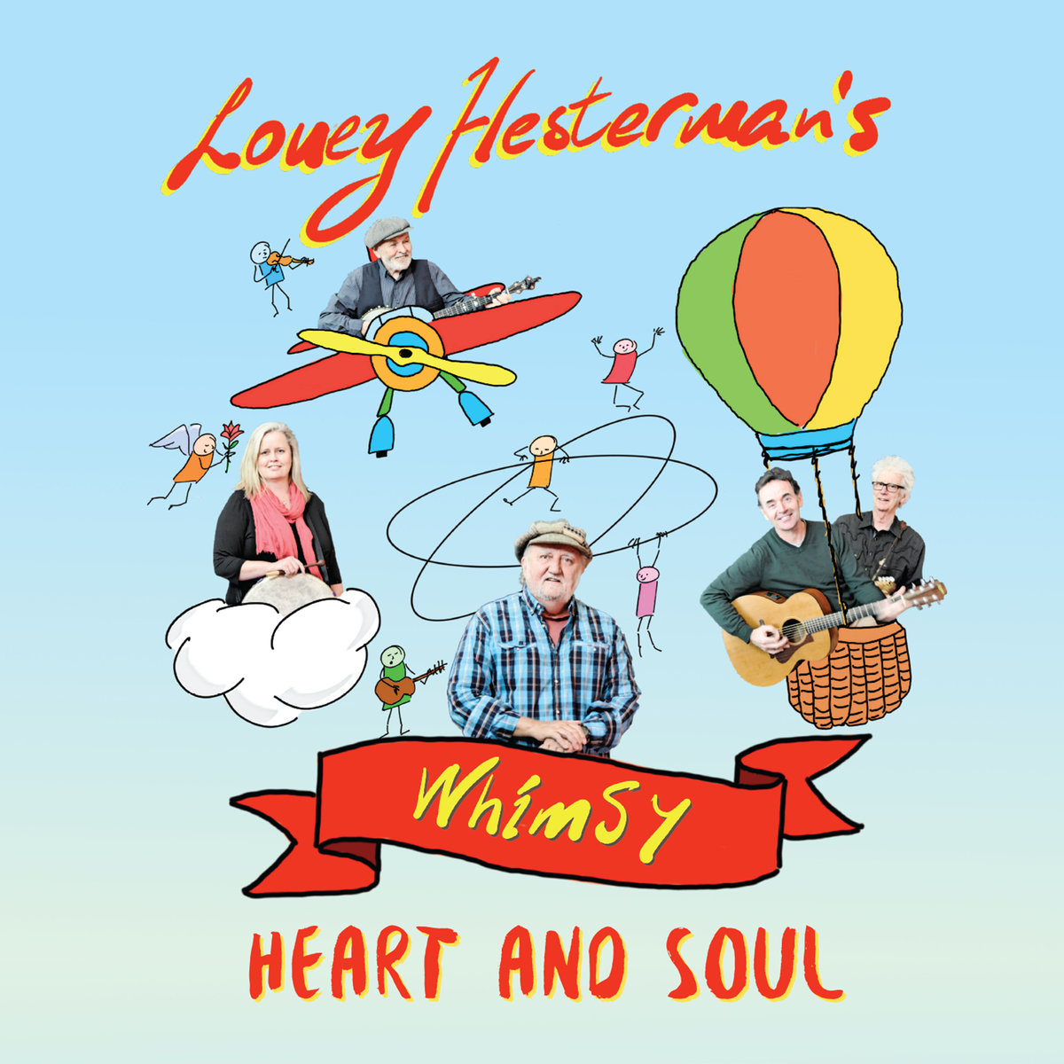 Album cover of Lou Hestermans Whimsy
